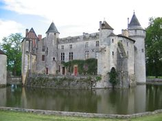 Château de la Brède -The philosopher Montesquieu was born, lived and wrote the majority of his works here.
