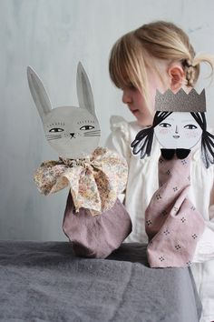 Easy Paper Puppets | Mer Mag