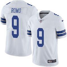 Nike Cowboys #9 Tony Romo White Men's Stitched NFL Vapor Untouchable Limited Jersey
