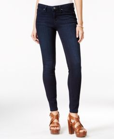 Jessica Simpson Kiss Me Super-Skinny Jeans - Blue 27S