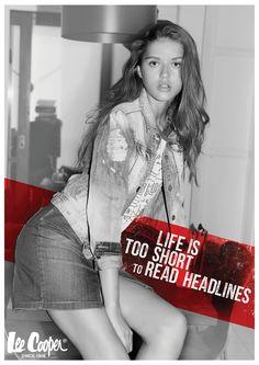 Poster made for 'Lee Cooper Israel' advertising agency - INBAR MERHAV G