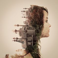 12 Beautiful Double Exposure Artworks and How to Create Them in Photoshop Photoshop For Photographers, Photoshop Photography, Landscape Photographers, Beauty Photography, Digital Photography, Double Exposure Effect, Multiple Exposure, Norman Rockwell, Photoshop Effects