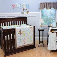 Park Avenue Rugs Count Off My 123'S 12 Piece Crib Bedding Set