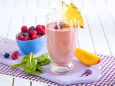 Gesundes Frühstück - der Fit-Start in den Tag! - fruehstuecks-smoothie  Rezept
