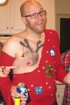 Best MENS ugly Christmas sweater. :)