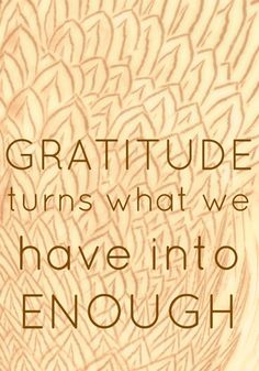 Gratitude / Thanksgiving
