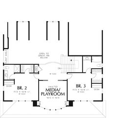 Seligman House Plan 6773 - 4 Bedrooms and 6.5 Baths   The House Designers