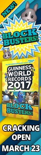 We are excited to announce that Guinness World Records 2017 Blockbusters! hits stores in the UK today, following the book's launch in the US and Australia earlier this year.    Our new title is jam-packed with the latest records from kids' favourite movies, social media, music, toys and beyond.  #kids #education #read #teachers #classroom #learning #fun #ideas #creative #colors #challenges #class #k-5 #books #new