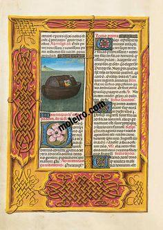 f. 65v, Noah´s Ark The Isabella Breviary