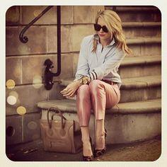:: pink, stripes & leopard ::