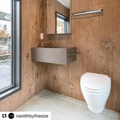 #Repost @neolithbythesize of #NeolithTinyHouse coming to Marble Trend May 8 9 10 and 11! You don't want to miss this amazing Tiny House!  Feeling the warmth and beauty of wood in this cozy bathroom with spectacular views!  Neolith Tiny House project  Flooring: Neolith #StrataArgentum Riverwashed.  Wall Cladding & Shower: #LaBohème B01 Satin.  http://ift.tt/2i8ZrG3  #NeolithTinyHouse #TinyHouse #TinyHouseMovement #TinyHouseLife #TinyHouseBigLiving #LiveSimply #VanLife #CustomVan…