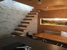 Küche, Essplatz, freie Galerietreppe Stairs, Home Decor, Stairway, Essen, Ladders, Homemade Home Decor, Staircases, Decoration Home, Stairways