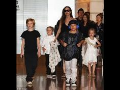 BRAD PITT'S HOPES FOR  A CHRISTMAS REUNION  WITH HIS KIDS  RUINED  BY AN...