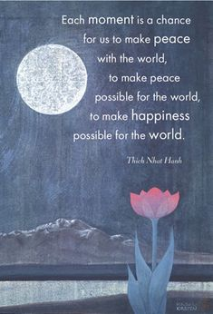 #Thich #Nhat #Hanh #Peace #quote