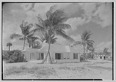Hubert J. Jenkins, residence on S. Beach house from east Ocean Beach, Palm Beach, Tropical Style, Old Florida, Sunshine State, Best Memories, Oceans, Bingo, Barefoot