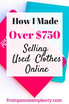 Wanna make money selling your old clothes online? See how I made over $750 doing just that. #thrifting #thriftshopping #makemoneyonline #poshmark #frompenniestoplenty Make Money Fast, Make Money From Home, Make Money Online, Selling Used Clothes Online, Selling Online, Online Clothes, Online Sales, Money Tips, Money Saving Tips