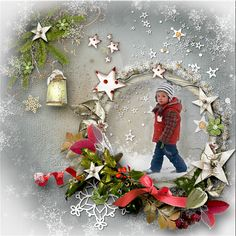 Kit *Noel* by Love-crea-desing  http://www.digiscrapbooking.ch/shop/index.php… http://scrapfromfrance.fr/shop/index.php…
