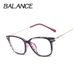 Retro square eyeglasses frames for women Nerd Glasses optical Metal eye glasses  TR90 Eyewear oculos de 69a6600673
