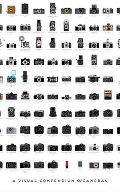 Infographic: A Timeline Of The 100 Most Important Cameras Ever Made | Co.Design | business + design