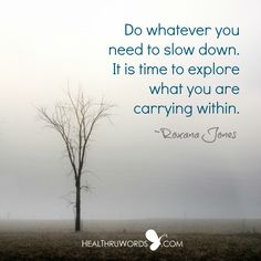 #Quote of the Day:  Going Back to Stillness