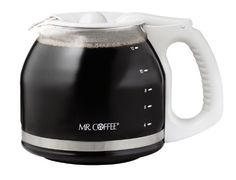 Mr. Coffee PLD13 12-Cup Replacement Decanter, White >>> Want to know more, visit http://www.amazon.com/gp/product/B000BK94P6/?tag=lizloveshoes-20&ptu=180816220629