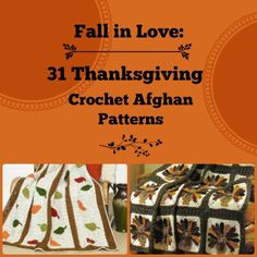 Fall in Love: 31 Thanksgiving Crochet Afghan Patterns