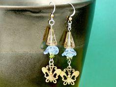 Gossamer Butterfly Earrings