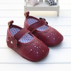 Cute Solid Soft Bottom Non-slip Shoes
