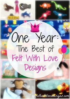 The best of Felt With Love Designs from the first year! Plus, a chance to vote for upcoming projects!