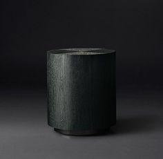 "Machinto Round Side Table / DIMENSIONS 18"" diam., 20""H | 22"" diam., 24""H"