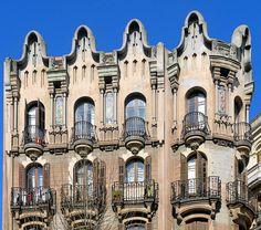 Casa Jaume Estrada  1908  Architect: Modest Feu i Estrada