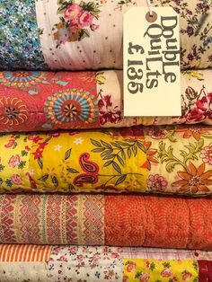 Here's just a few of the stunning hand-made quilts from our Lewes shop, Kings Framers, Lewes, East Sussex.