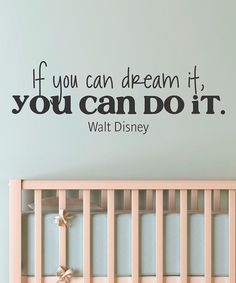 Black 'Dream It Do It' Wall Decal by Wallquotes.com by Belvedere Designs on #zulily