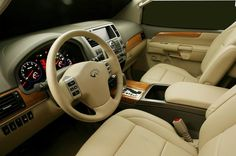 Infiniti Qx56 Interior Exactly what my new car looks like. <3