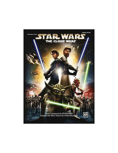 Enjoy the music featured in the first-ever animated feature from Lucasfilm Animation along with 11 pages of color and black  white movie artwork.