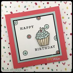"""A Simple Card made from at Stampendous Clear stamp set called """"Whisper Happy Wagon"""""""