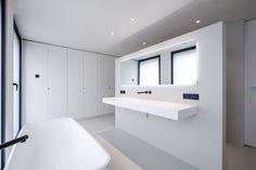 Master Bedroom Bathroom, Modern Master Bathroom, Home Bedroom, Small Bathroom, Bathroom Interior Design, Modern Interior Design, Woodworking Wood, Minimalist Home, Bathroom Inspiration