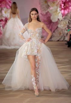 The Most Naked Looks From Bridal Fashion Week
