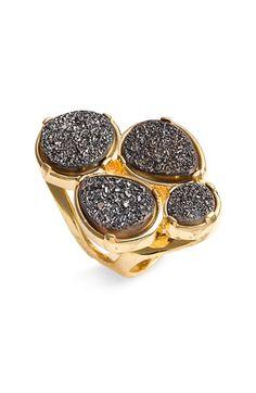Marcia Moran 'Drusy Pebble' Ring
