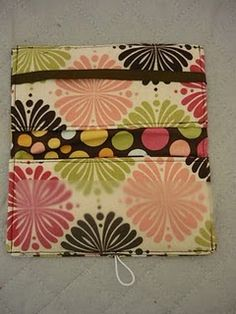 Checkbook cover #sewing #checkbook #tutorial