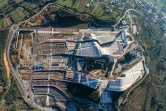 marvelous #architecture around the World !!!   Cidade da Cultura de Galicia, Santiago de Compostela - Peter Eisenman
