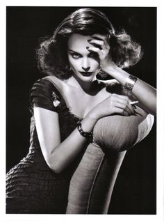 """Old Hollywood recreated in """"Dressing: Stardust"""": Steve Meisel for Vogue Italia"""