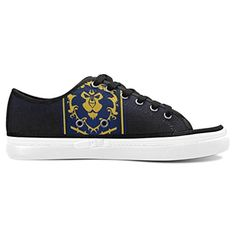 Thelma World of Warcraft Women's Casual Nonslip Canvas Shoes Sneakers,White - Brought to you by Avarsha.com