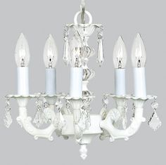 Jubilee Collection Ceiling Lights Stacked Glass Ball 5 Light Chandelier - 7037_6076