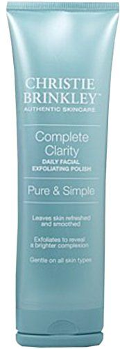 buy now $20.98 Full Clarity Each day Facial Exfoliating Polish ~ Entire Dimensions 3 oz. • Mild daily exfoliant assists gets rid of lifeless pores and skin cells • Aids greatly enhance pores and skin mobile turnover, allowing pores and skin to be much more receptive to other topical products • Salicylic acid presents chemical … Continue reading Christie Brinkley Complete Clarity Daily Facial Exfoliating Polish →