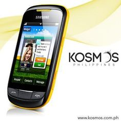 Samsung Corby II is very affordable with 3.14-inch touch-screen display mobile phone.One of the most successful mobile phone,the Samsung Corby.     http://www.kosmos.com.ph/product/20350018/samsung-corby-ii-smartphone-yellow