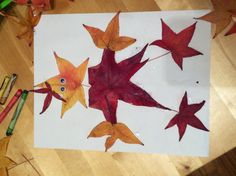 Quick, easy, innexpensive and fun leaves craft;)