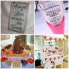 Sweets & Chocolate Themed Party