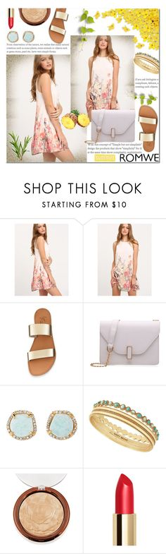"""""""Summer dress"""" by pengy-vanou ❤ liked on Polyvore featuring Louise et Cie and Lucky Brand"""