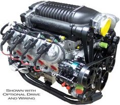 LS3 416 HO Supercharged Crate Engine - 750HP